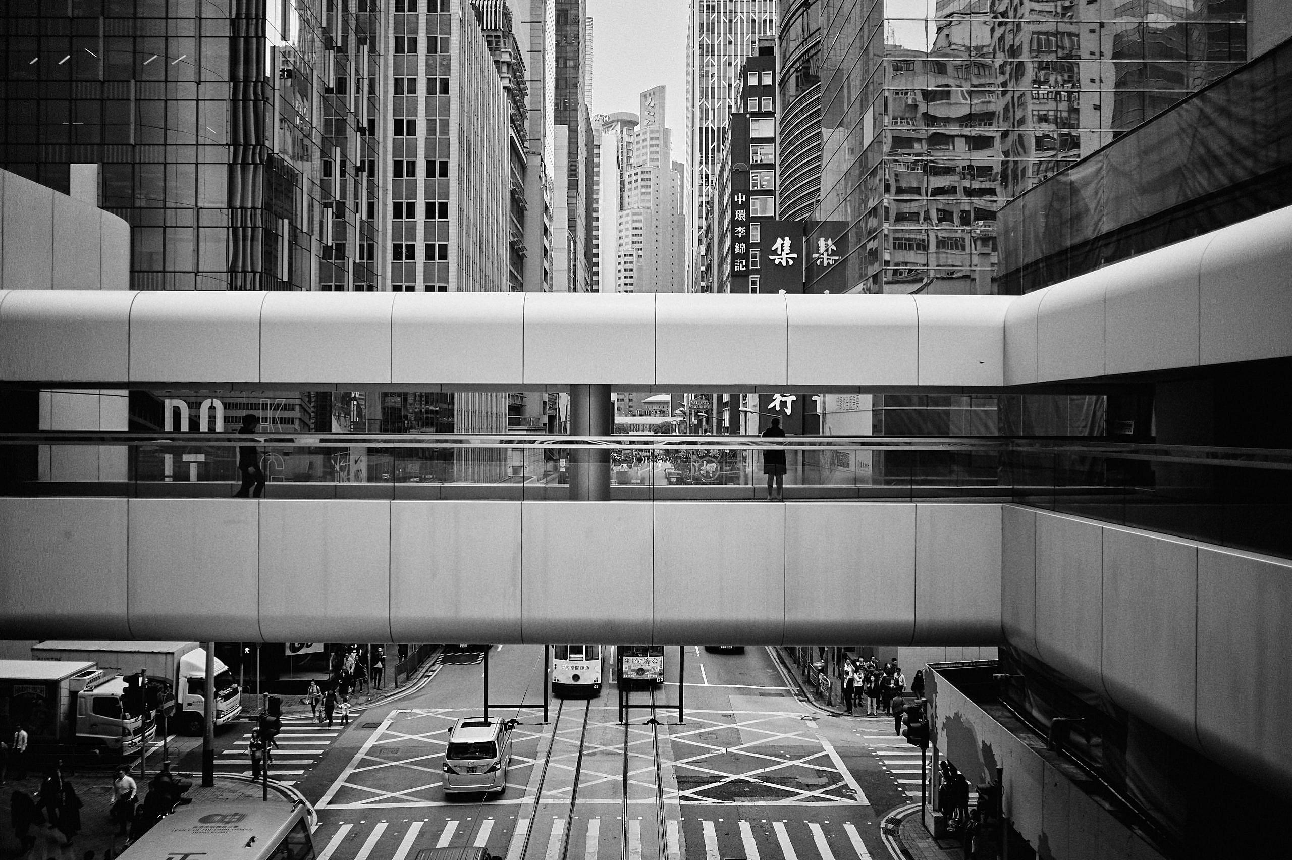 Leica monochrom auf Reisen in Hong Kong, Hongkong, China